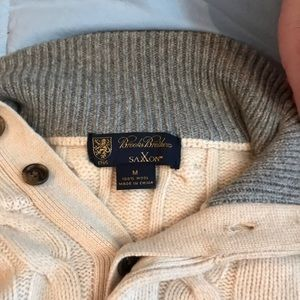 Other - Brooks Brothers saxxon 100% wool sweater